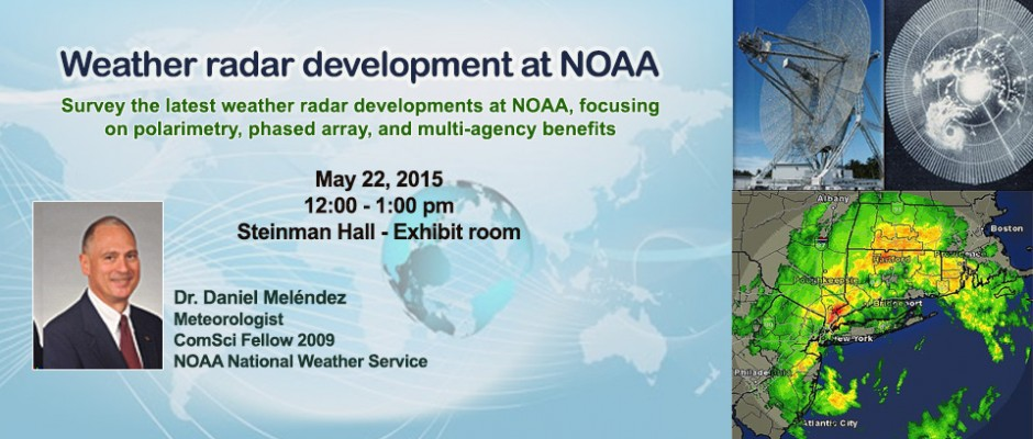 Weather radar development at NOAA