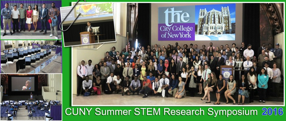CUNY Summer STEM Research Symposium 2016