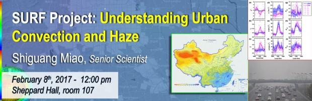 Understanding Urban Convection and Haze